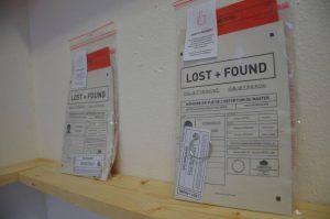 Lost & Found installation Deborah Marino
