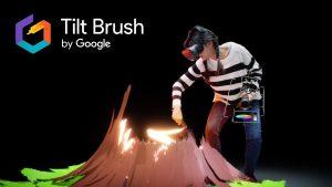 google tilt brush equip