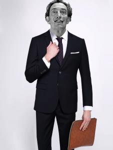 Artist in suit